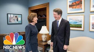 Senator Susan Collins Says Brett Kavanaugh Sees Roe V. Wade As 'Settled Law' | NBC News