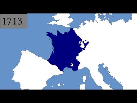 France's territorial evolution