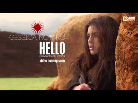 GESSICA NOTARO  HELLO (Kizomba Spanish Version) AUDIO