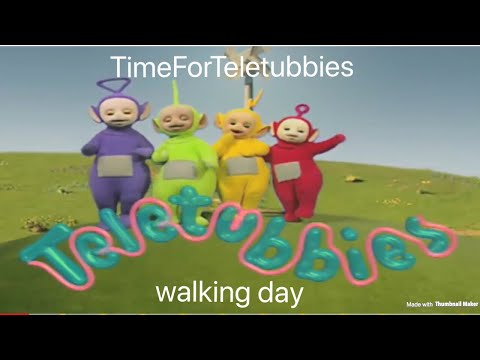 custom made teletubbies episode: walking day.