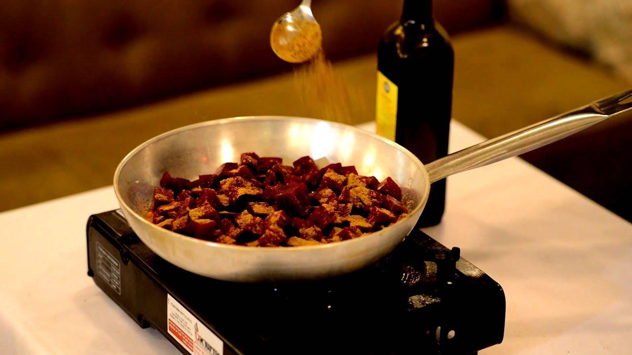 סלק אדום חתוך ומבושל   'דיל ברבא' - מתכון לבישול אבי לוי