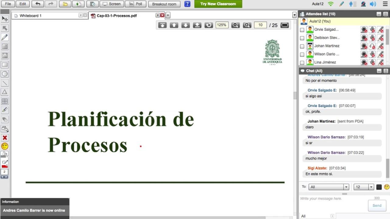 ISI485 - Sistemas Operativos - C5P5 - Planificación de Procesos