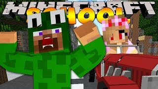 Minecraft School -  LITTLE LIZARD WAS IN A CAR CRASH! w/ Little Kelly