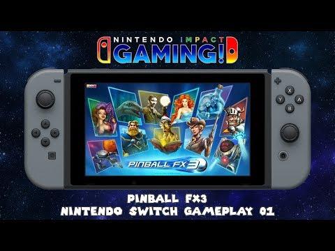 Pinball FX3 | Nintendo Switch Gameplay