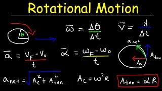Video Rotational Motion Physics, Basic Introduction, Angular Velocity & Tangential Acceleration download MP3, 3GP, MP4, WEBM, AVI, FLV Agustus 2018