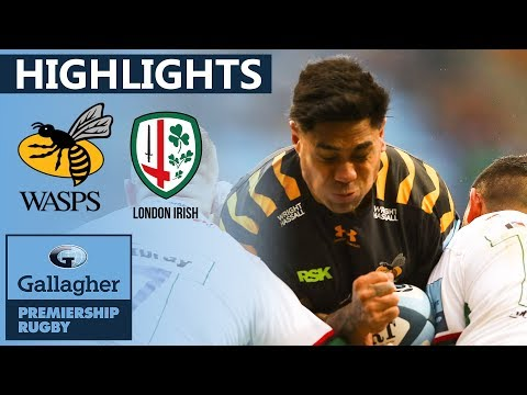 Wasps 26-29 London Irish HIGHLIGHTS | Incredible Match Won By 3 Points | Gallagher Premiership 19/20