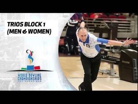 Trios Block 1 Squad 2 (Men and Women) - World Bowling Championships 2017