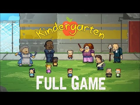 Kindergarten Full game & ENDING walkthrough gameplay (No Commentary)