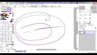 【Урок №3-как делать линии плавными и ровными】