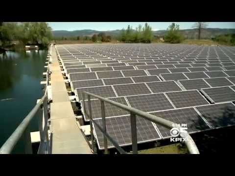 Far Niente Winery uses Floating Solar Panels. Has NO PG&E bill!
