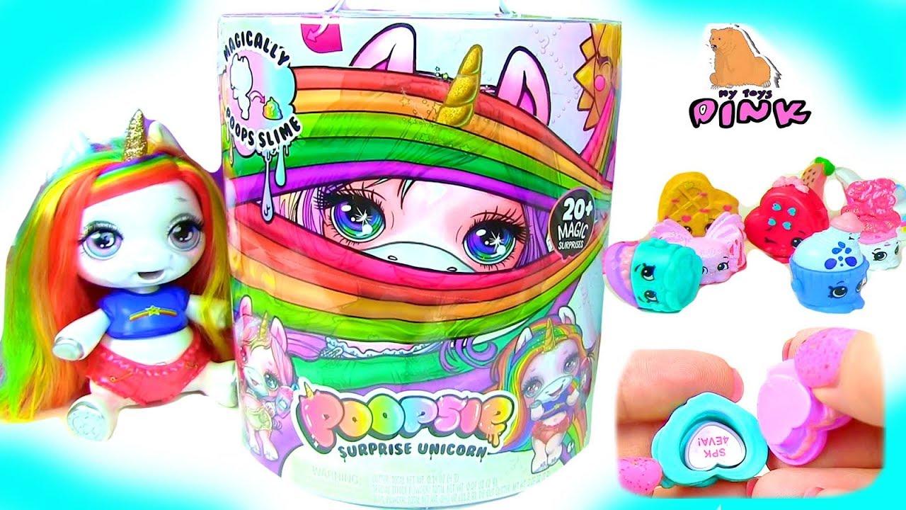 подруга пони Unicorn лизны Baby Unicorn Surprise шопкинс с сюрпризом