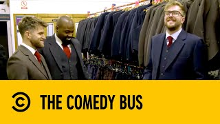 Iain Stirling Gets Hammered in a Kilt Shop | The Comedy Bus