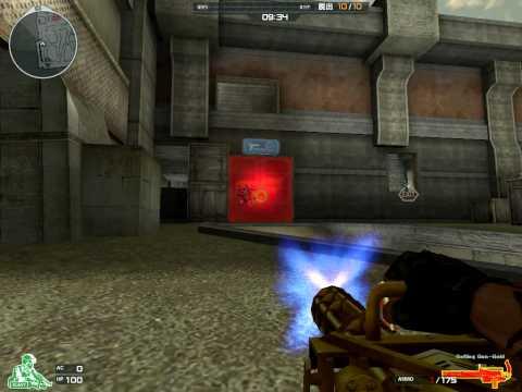 『クロスファイア(CrossFire)』 3月4日実装の新武器 Gatling Gun Gold
