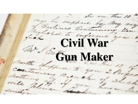 History Geek - Simeon North, Civil War Gun Maker