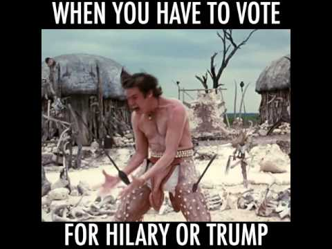 hqdefault when you have to vote for trump or hillary youtube