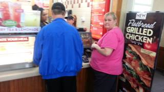 Angry Customers at Wendys