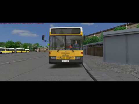 OMSI2 Berlin X10 Addon    From depot Cicerostr. to Hertzallee   with O405 addon |
