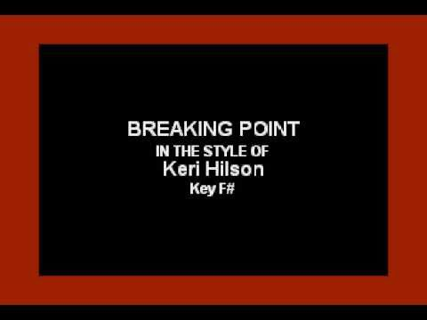 Keri Hilson - Breaking Point (Karaoke)
