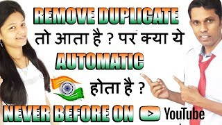 Remove Duplicate Automatic in Excel || Excel Magic Tricks || Magic in Excel