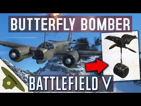 Battlefield 5: CLUSTER BOMBS and a 75mm cannon on the new JU-88 C bomber thumbnail
