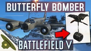 Battlefield 5: CLUSTER BOMBS and a 75mm cannon on the new JU-88 C bomber
