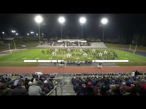 Marching Dons & Color Guard of Amador Valley High School – 2019 WBA Championships - Clovis CA