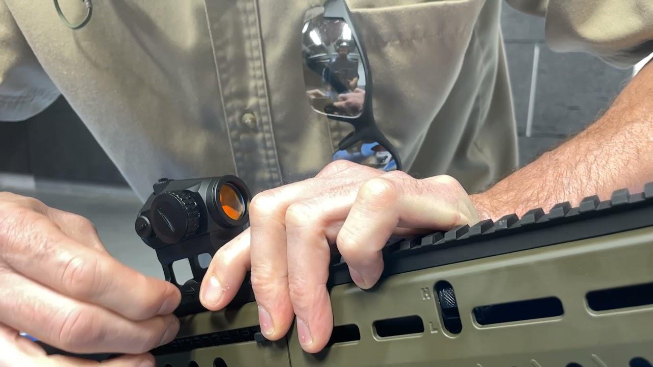Installing a Vortex Reddot on a  TS12 shotgun
