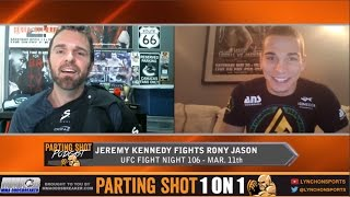 EXCLUSIVE: Jeremy Kennedy talks Rony Jason matchup at UFC Fight Night 106