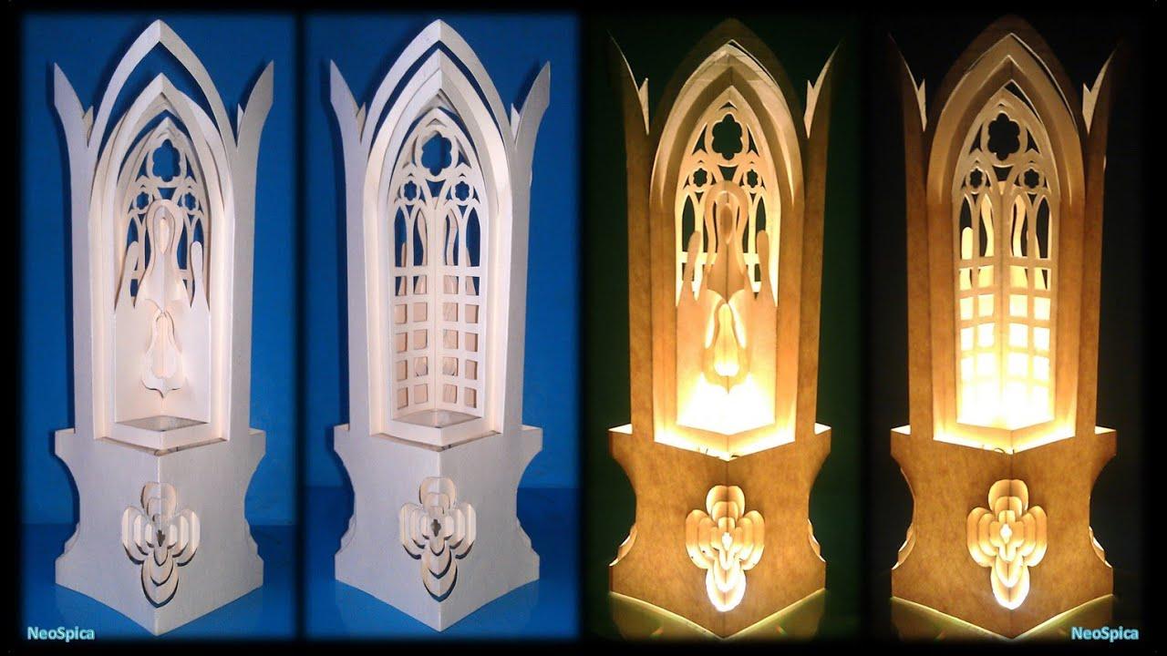 Paper Cut Lantern Bethlehem Nativity