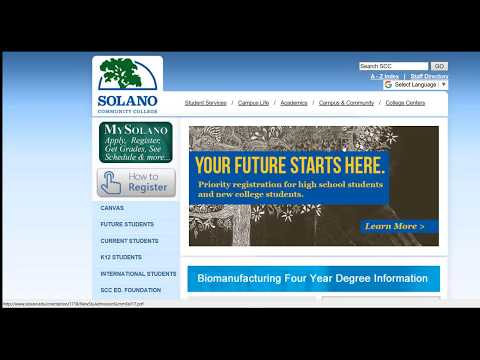 How to Apply to Solano Community College