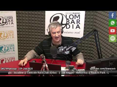 ON-OFF ospiti a LINEA ROCK - RADIO LOMBARDIA