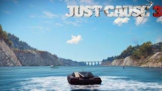 Just Cause 3 Secret Super Boat