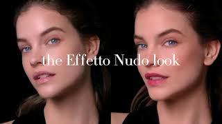 The EFFETTO NUDO look starring Barbara Palvin - Giorgio Armani