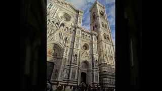 イタリアの旅パート15・世界遺産ピサ(Pisa)の斜塔や周辺の風景(2012.12)