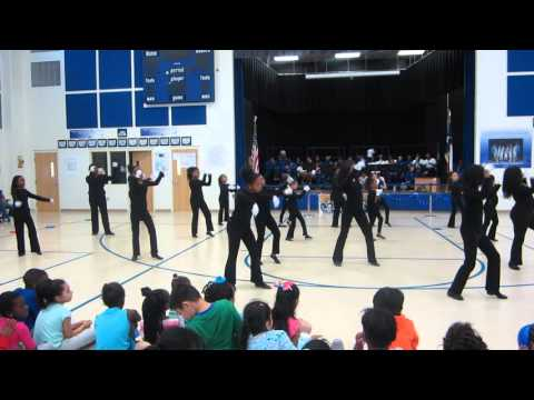 Charlton-Pollard Elementary School- Praise Dance Team- encourage yourself