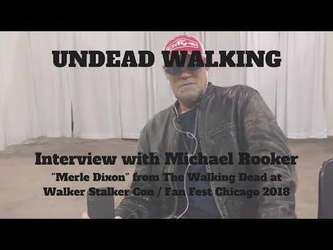 Michael Rooker  at Walker Stalker Con  Heroes and Villains   Fest Chicago 2018