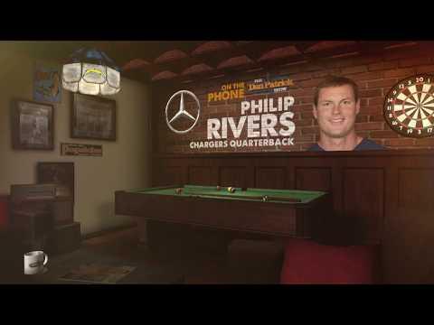 Chargers QB Philip Rivers Talks Vontae Davis, Rams & More wDan Patrick  Full   91718