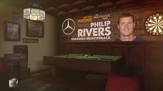 Chargers QB Philip Rivers Talks Vontae Davis, Rams & More w/Dan Patrick | Full Interview | 9/17/18