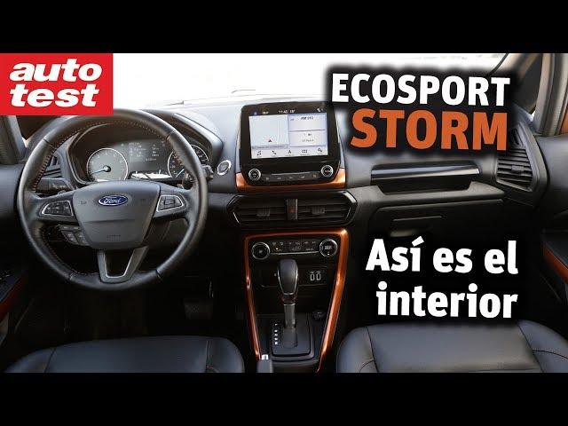 Por dentro: Ford EcoSport Storm