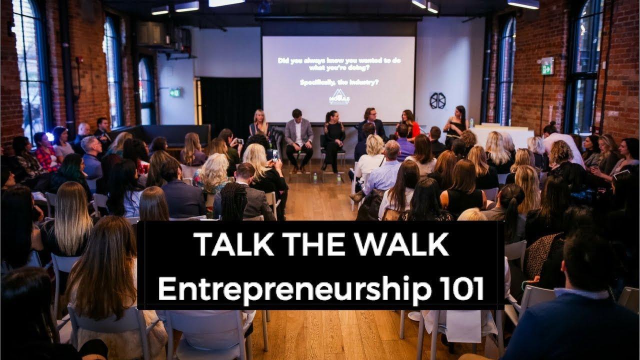TALK THE WALK: Speaker Series - March 2018