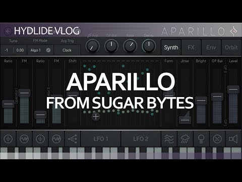 Aparillo from sugar bytes tutorial in Ableton Live