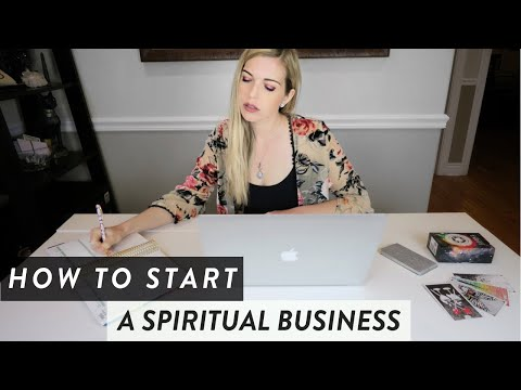HOW TO START A SPIRITUAL BUSINESS || 5 STEPS TO SUCCESS