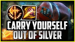 Carry Yourself Out Of LOW ELO | How to Carry Your Team With Jax Jungle Season 10 League of Legends