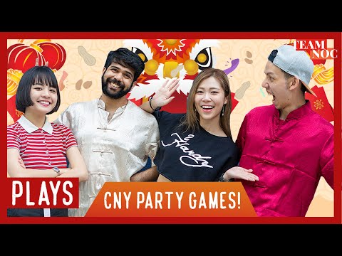 NOC PLAYS: CNY Party Games!