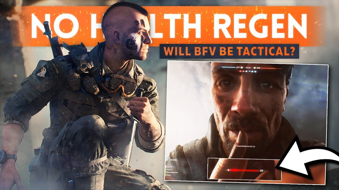 NO HEALTH REGEN & LESS AMMO - Will Battlefield 5 Be More Strategic & Tactical? (Battlefield V)