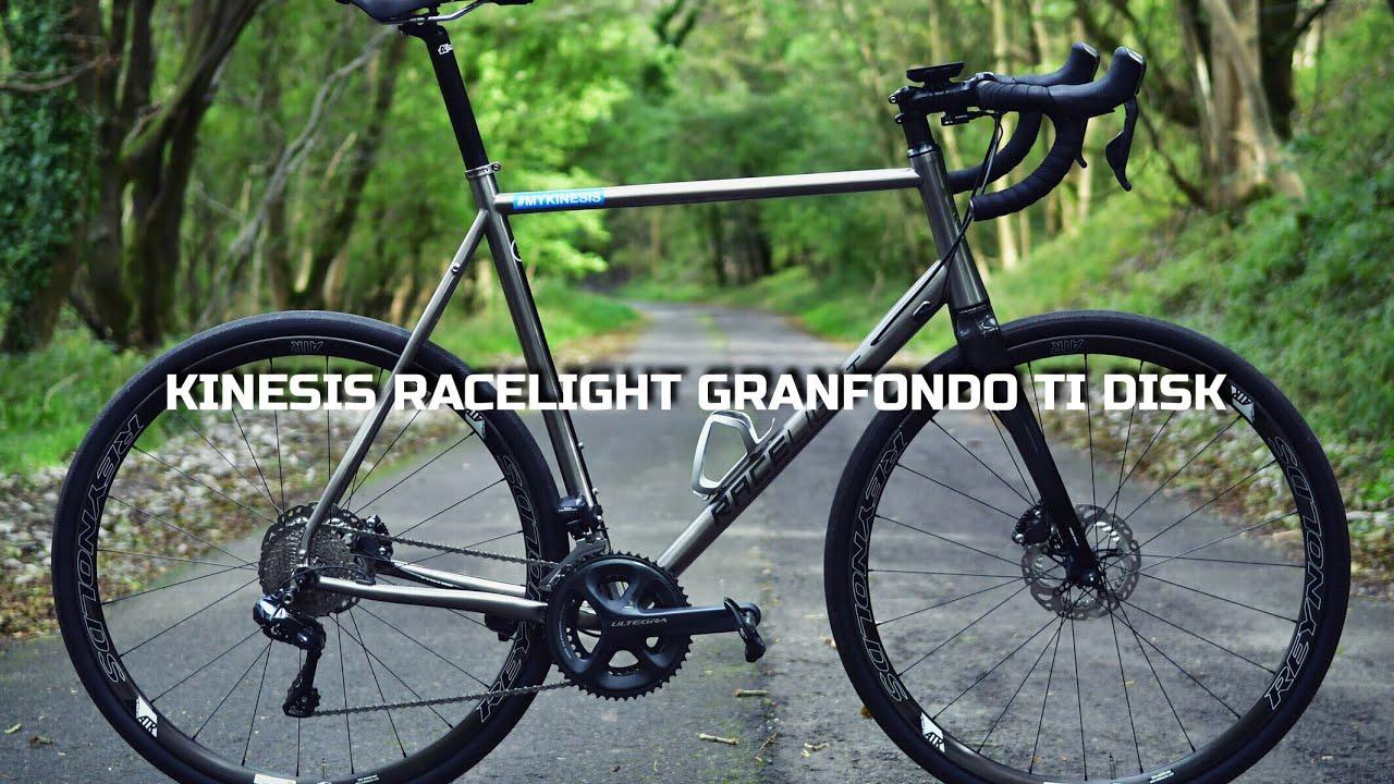 Kinesis Racelight Granfondo Ti Disc Review Youtube