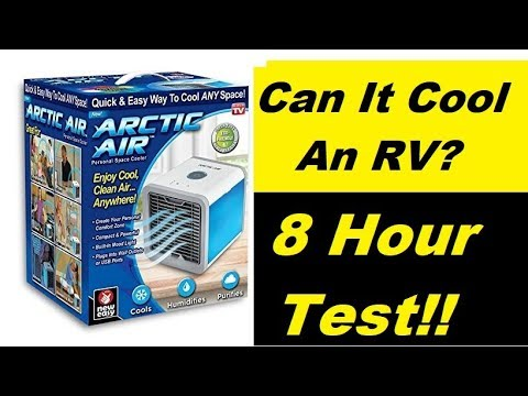 RV Test 8 Hour Arctic Cooler, Will It Work??