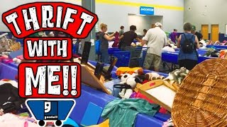 Thrifting the Goodwill Outlet Bins | Thrift with Me for Profit | Reselling on Ebay 2019