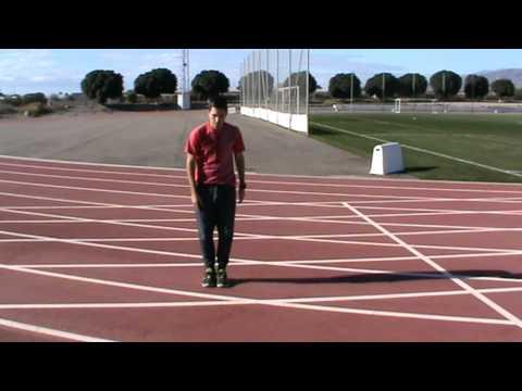 calentamiento de atletismo
