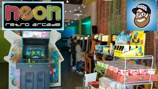 Neon Retro Arcade - Pasadena, CA